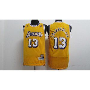 Los Angeles Lakers Wilt Chamberlain Gold Jersey
